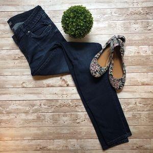 Kut From The Kloth Dark Wash Skinny Jeans